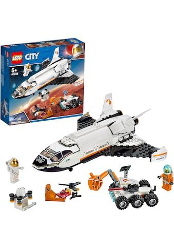 """LEGO® Konstruktionsspielsteine """"Mars - Forschungsshuttle (60226), LEGO® City Space Port"""", (273 - tlg.) kaufen"""