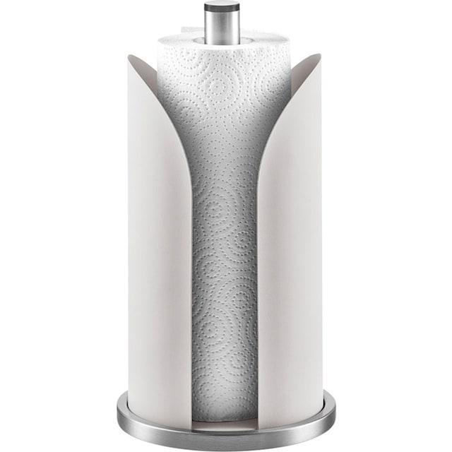 Zeller Present Küchenrollenhalter Edelstahl, pulverbeschichtetes Metall, (1-tlg.)