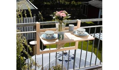 promadino Balkonhängetisch, BxTxH: 70x46x115 cm kaufen