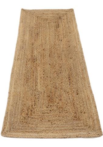 Läufer, »Nele«, carpetfine, rechteckig, Höhe 6 mm, handgewebt kaufen