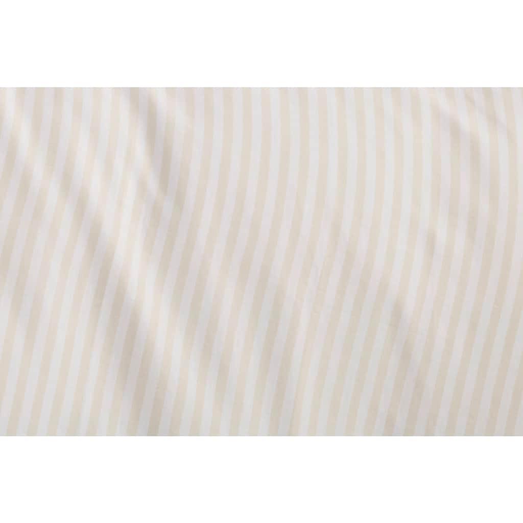 elbgestoeber Bettwäsche »Elbnetz 2«, mit feinen modernen Streifen