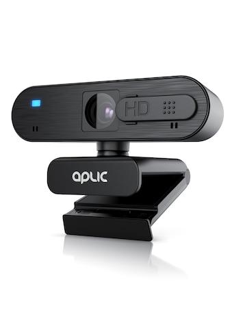 Aplic Webcam »Privacy Shutter Sichtschutz / Stereomikrofone«, Full HD, 1920x1080P @ 30 Hz mit Autofokus kaufen