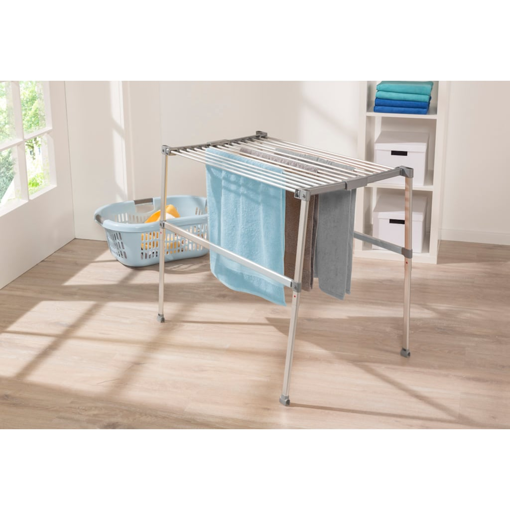 Ruco Wäscheständer, Aluminium/Kunststoff, 11 m Trockenlänge