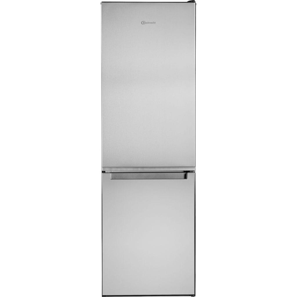 BAUKNECHT Kühl-/Gefrierkombination »KG StopFrost 182 IN«, KG StopFrost 182 IN, 189 cm hoch, 59,5 cm breit