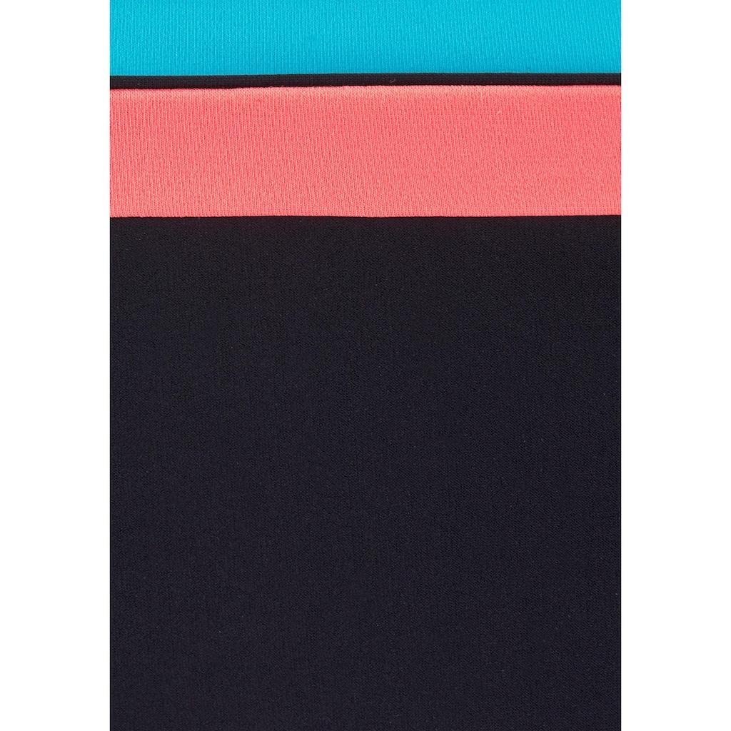 Sunflair Bügel-Bikini, mit schönen Kontrasteinsätzen