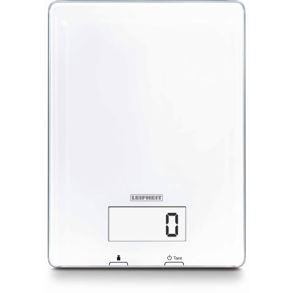 Leifheit Küchenwaage, (2 tlg.), mit LED Anzeige
