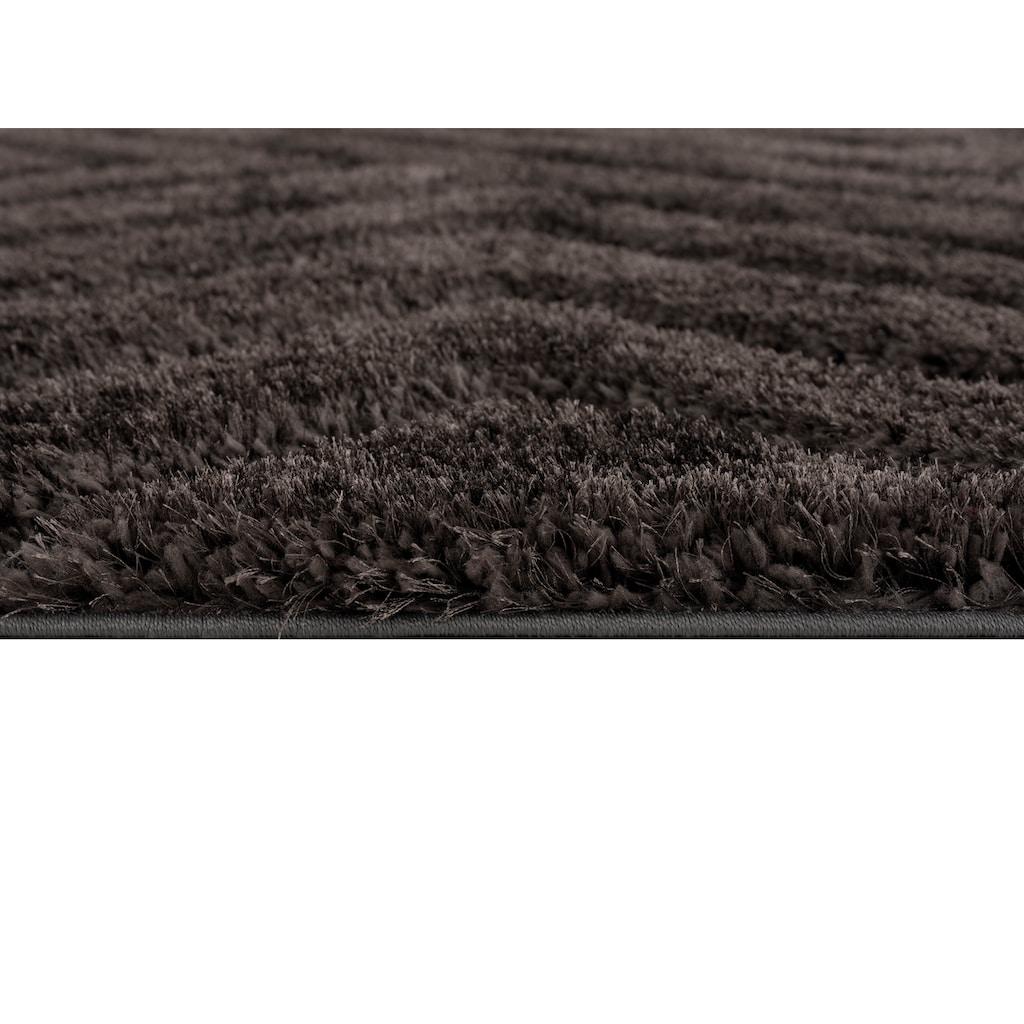 andas Hochflor-Teppich »Fiori«, rechteckig, 43 mm Höhe, Pastellfarben