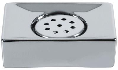 SPIRELLA Seifenschale »Quadro«, Keramik in Silber kaufen