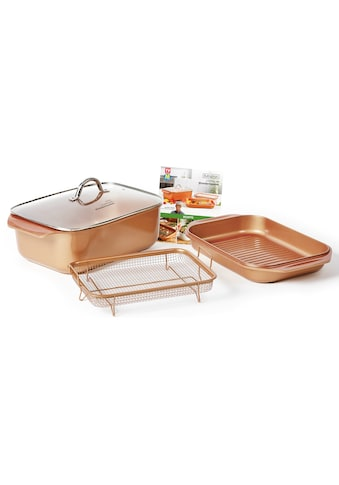 LIVINGTON Bräter »Cooperline Wonder Cooker« (Set, 5 - tlg.) kaufen