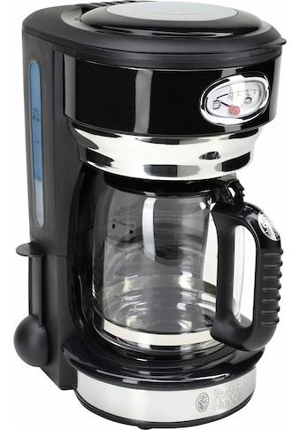 RUSSELL HOBBS Filterkaffeemaschine »Retro 21701-56 Classic Noir«, Papierfilter, 1x4, mit Retro-Brühanzeige kaufen