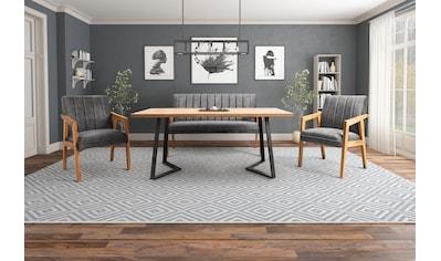 Essgruppe »Albona« (Set, 4 - tlg bestehend aus Sitzbank, Tisch und 2 Armstühlen) kaufen