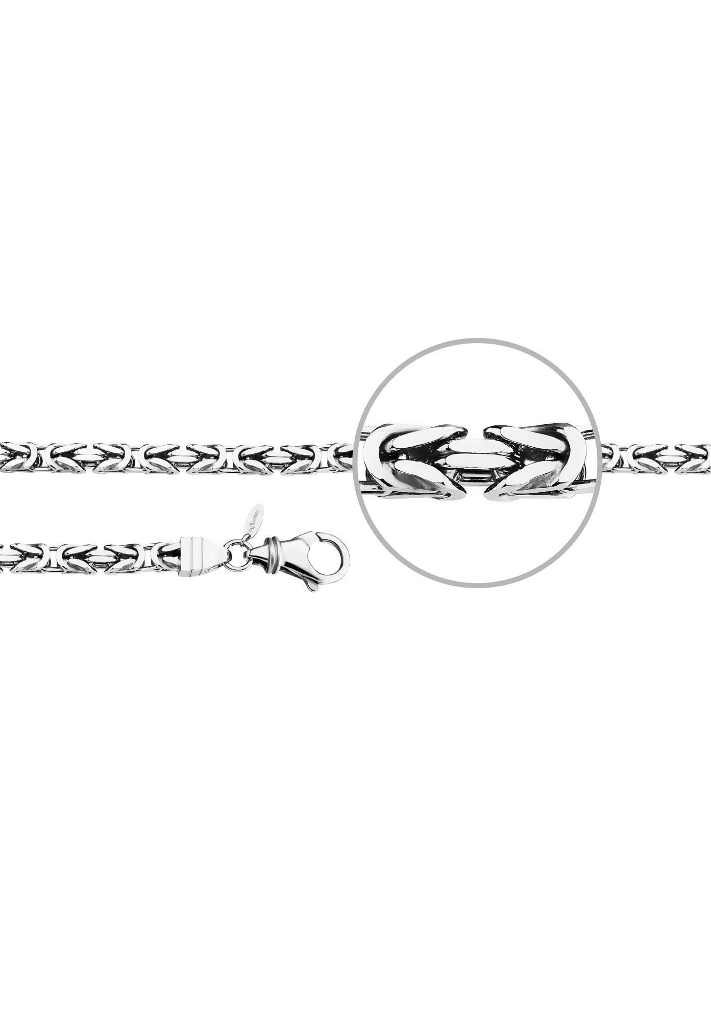 Der Kettenmacher Königsarmband »KÖ5-21S, KÖ5-23S« | Schmuck > Armbänder > Königsarmbänder | Silberfarben | DER KETTENMACHER