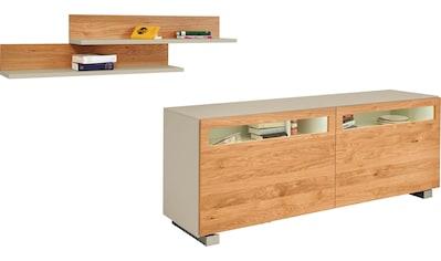 now! by hülsta Sideboard »now! vision«, mit 2 Wandregalen, 3-tlg. kaufen