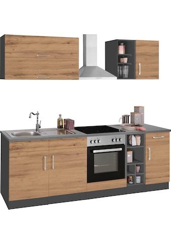 HELD MÖBEL Küchenzeile »Colmar«, mit E-Geräten, Breite 240 cm kaufen