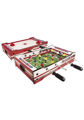 Carromco Multifunktionstisch »Multi Spiel FLIP-XM«, 2in1 Kicker/Gleithockey kaufen