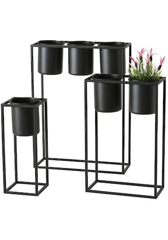 BOLTZE Übertopf »Pflanztopf Mensola, 3 tlg., Set 3«, (3 St.) kaufen