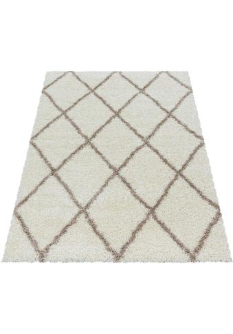 Ayyildiz Hochflor-Teppich »ALVOR 3401«, rechteckig, 50 mm Höhe, Wohnzimmer kaufen