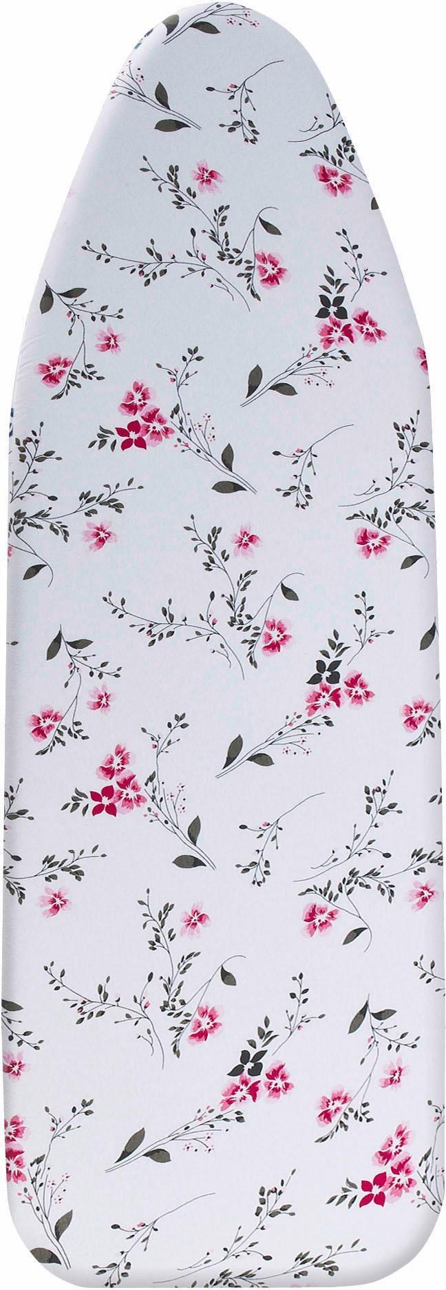 Wenko Bügeltischbezug, »Keramik Floral« | Flur & Diele > Haushaltsgeräte > Bügelbretter | Weiß | Keramik | WENKO