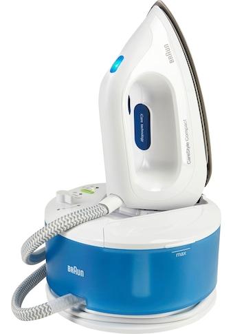 Braun Dampfbügelstation CareStyle Compact IS 2043, blau, 1300 ml Wassertank, 2200 Watt kaufen