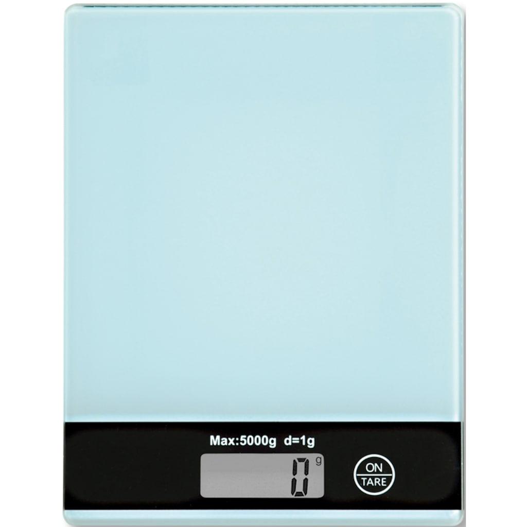 KESPER for kitchen & home Küchenwaage, mit LCD-Display, bis 5 kg