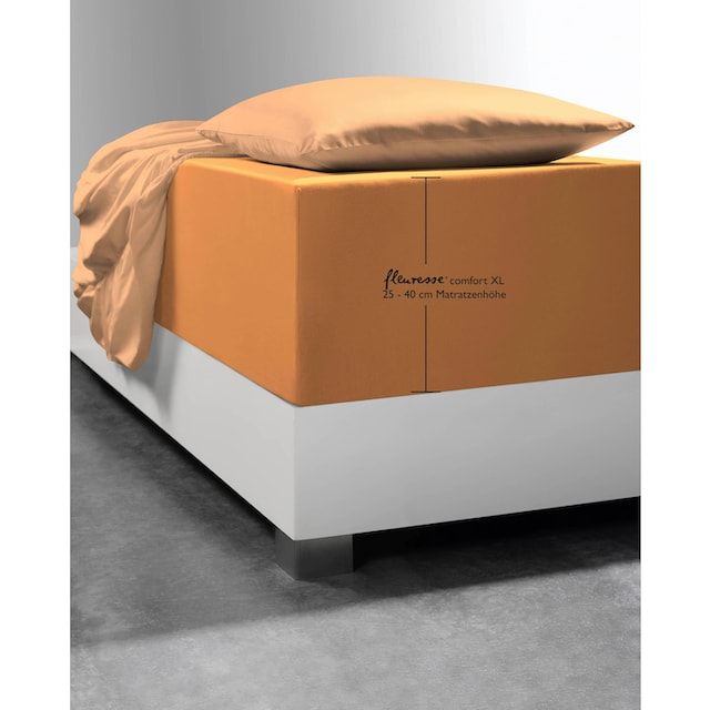 Spannbettlaken »Comfort XL«, fleuresse