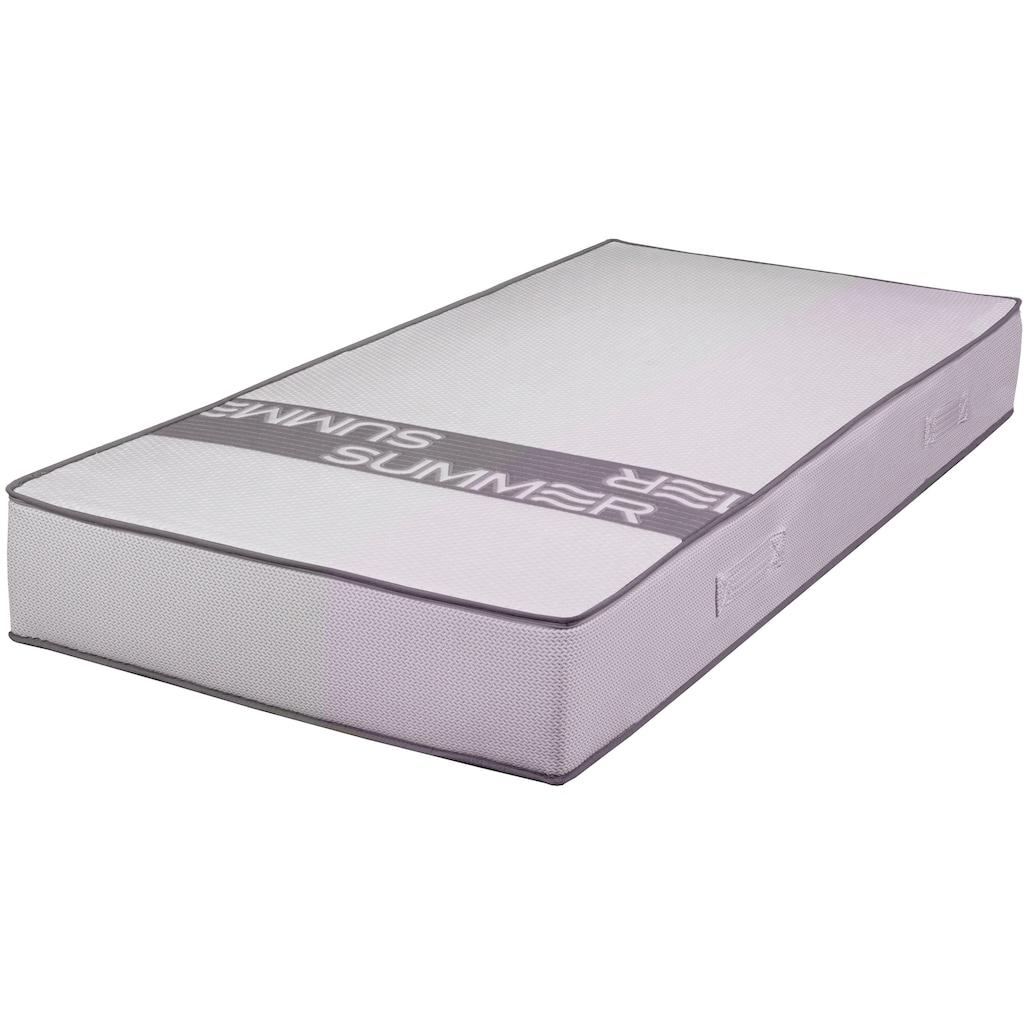 Breckle Gelschaummatratze »Smartsleep 5000 Gel«, 23 cm cm hoch, Raumgewicht: 50 kg/m³, (1 St.), perfekte Druckentlastung, optimale Stützkraft - Ideal für Personen mit starker Transpiration