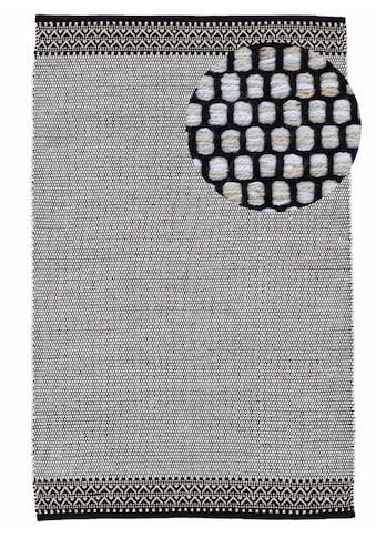 carpetfine Teppich »Kelim Mia«, rechteckig, 6 mm Höhe, Baumwolle Wendeteppich, Wohnzimmer kaufen