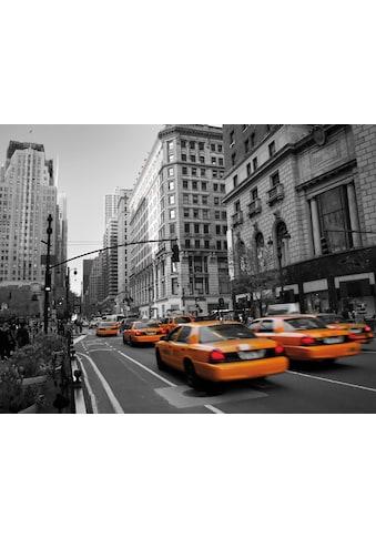 Wall-Art Vliestapete »Cabs in Manhattan« kaufen