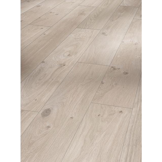 PARADOR Laminat »Basic 400 - Eiche Natur Grau«, 1285 x 194 mm, Stärke: 8 mm