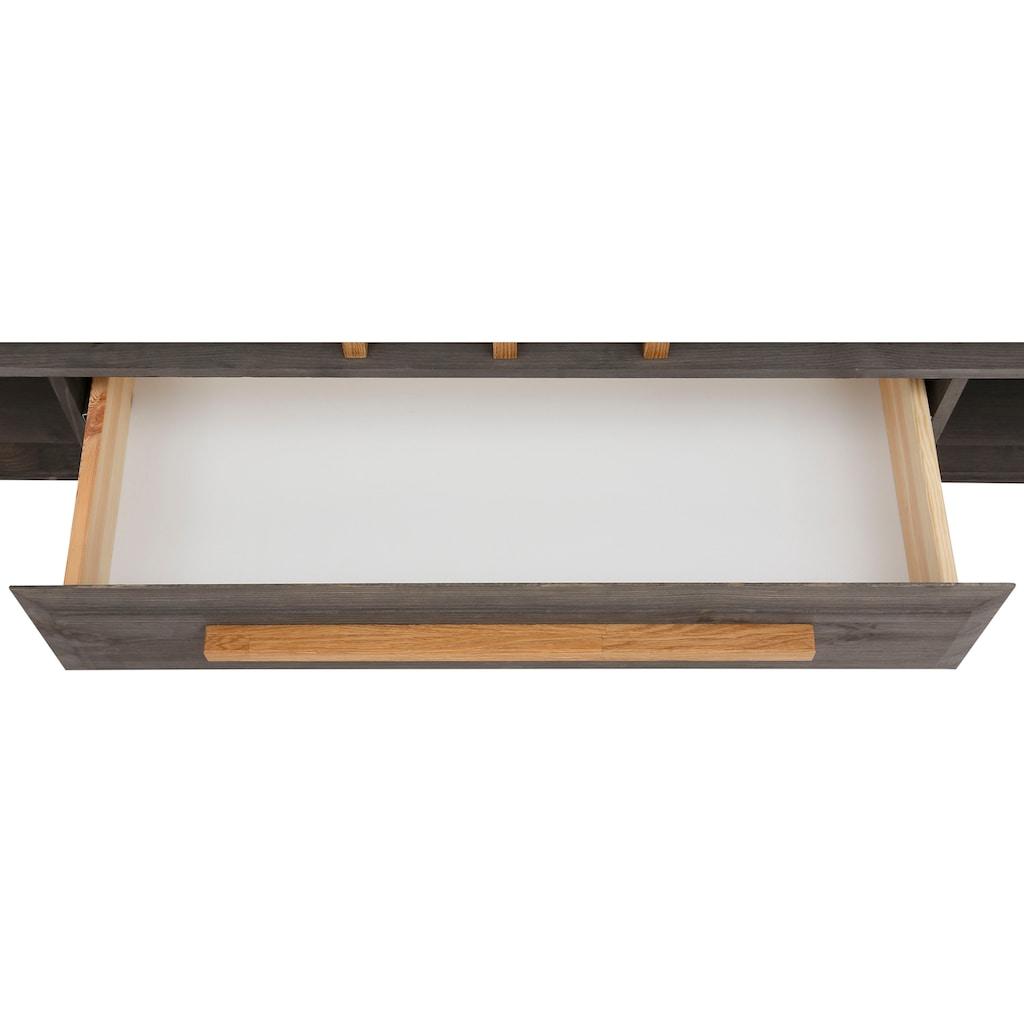 "Home affaire Lowboard »Ance«, Lowboard ""Ance"" aus Kiefer massiv, Breite 180 cm"