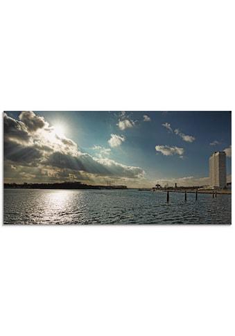 Artland Glasbild »Travemünde« kaufen