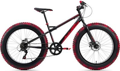 KS Cycling Fatbike »SNW2458«, 6 Gang, Shimano, Tourney Schaltwerk, Kettenschaltung kaufen