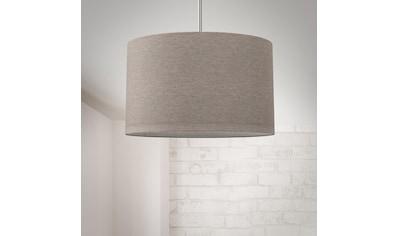 B.K.Licht Pendelleuchte, E27, Hängeleuchte, LED Pendelampe Stoff Textilschirm... kaufen