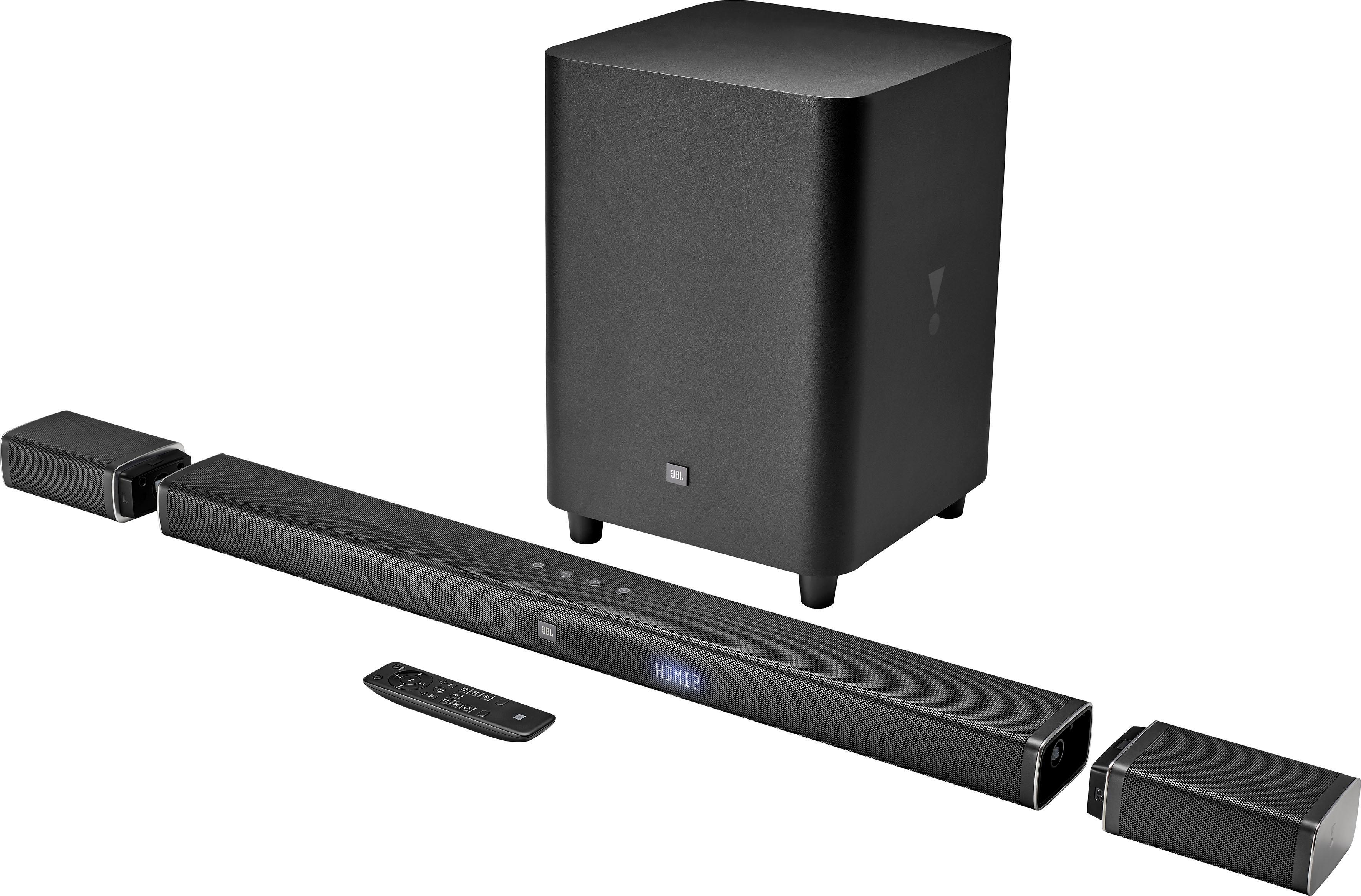 jbl bar 5 1 soundbar 510 watt auf rechnung kaufen. Black Bedroom Furniture Sets. Home Design Ideas