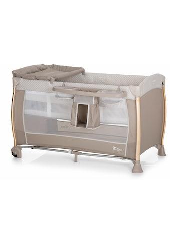 iCoo Baby-Reisebett »Starlight Diamond Beige«, inkl. Transporttasche kaufen