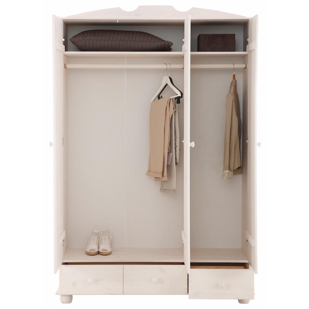 Home affaire Kleiderschrank »Melody«, aus massiver Kiefer