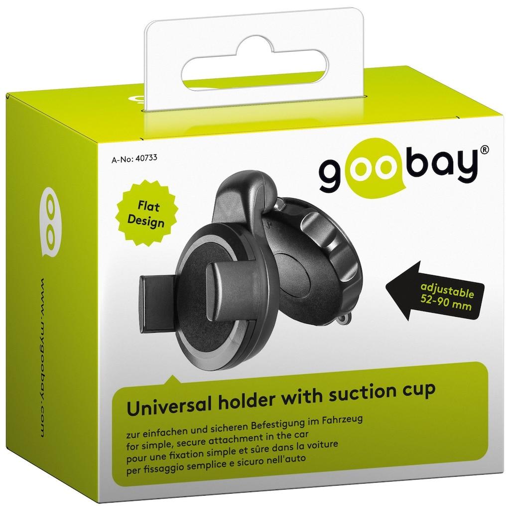 Goobay Halter Universal (Saugfuß) Klappbar
