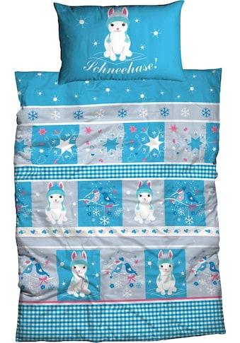 Kinderbettwäsche »Schneehase«, ADELHEID kaufen
