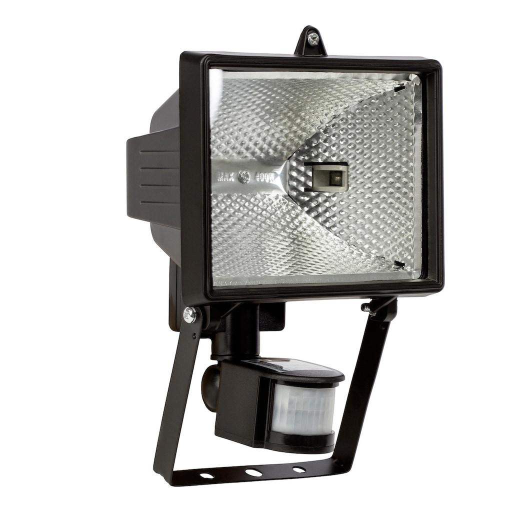 Brilliant Leuchten Tanko Außenwandstrahler 25cm Bewegungsmelder schwarz
