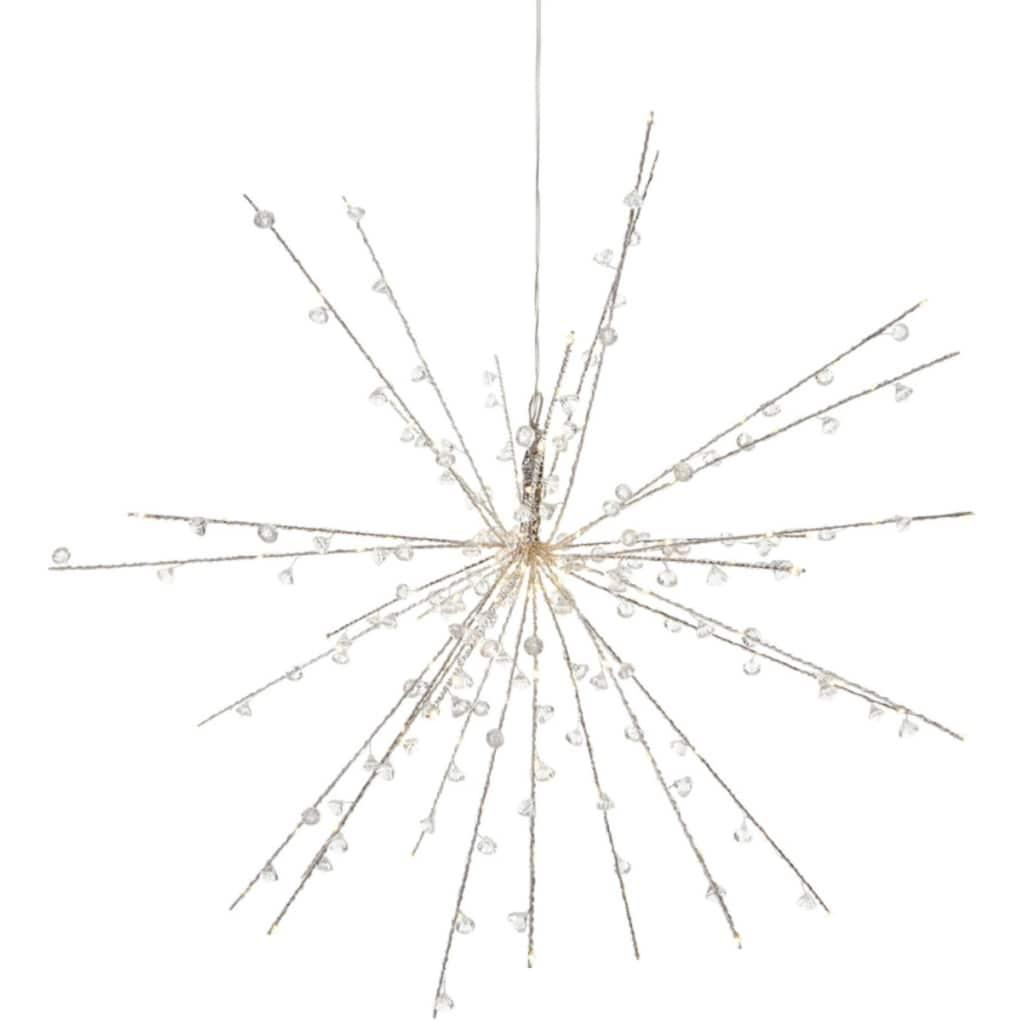 LED Dekoobjekt »Diamonds«, Warmweiß, mit kleinen tropfenförmigen Kunststoff-Diamanten