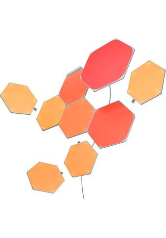 nanoleaf LED Panel »Nanoleaf Shapes Hexagons Starter Kit 9 PK«, LED-Board, Farbwechsler kaufen