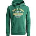 Jack & Jones Kapuzensweatshirt »LOGO SWEAT HOOD«