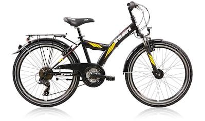 Tretwerk Jugendfahrrad »City Rider«, 21 Gang Shimano Tourney Schaltwerk, Kettenschaltung kaufen