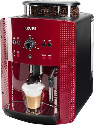 krups kaffeevollautomat ea8107 1 8l tank kegelmahlwerk. Black Bedroom Furniture Sets. Home Design Ideas