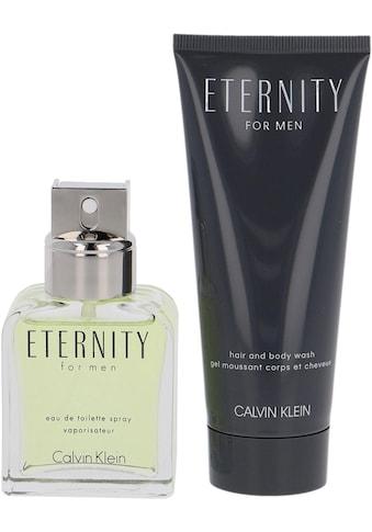 Calvin Klein Duft-Set »Eternity for Men«, (2 tlg.) kaufen