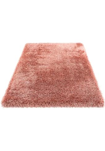 Hochflor - Teppich, »Amadeo«, my home, rechteckig, Höhe 73 mm, maschinell gewebt kaufen
