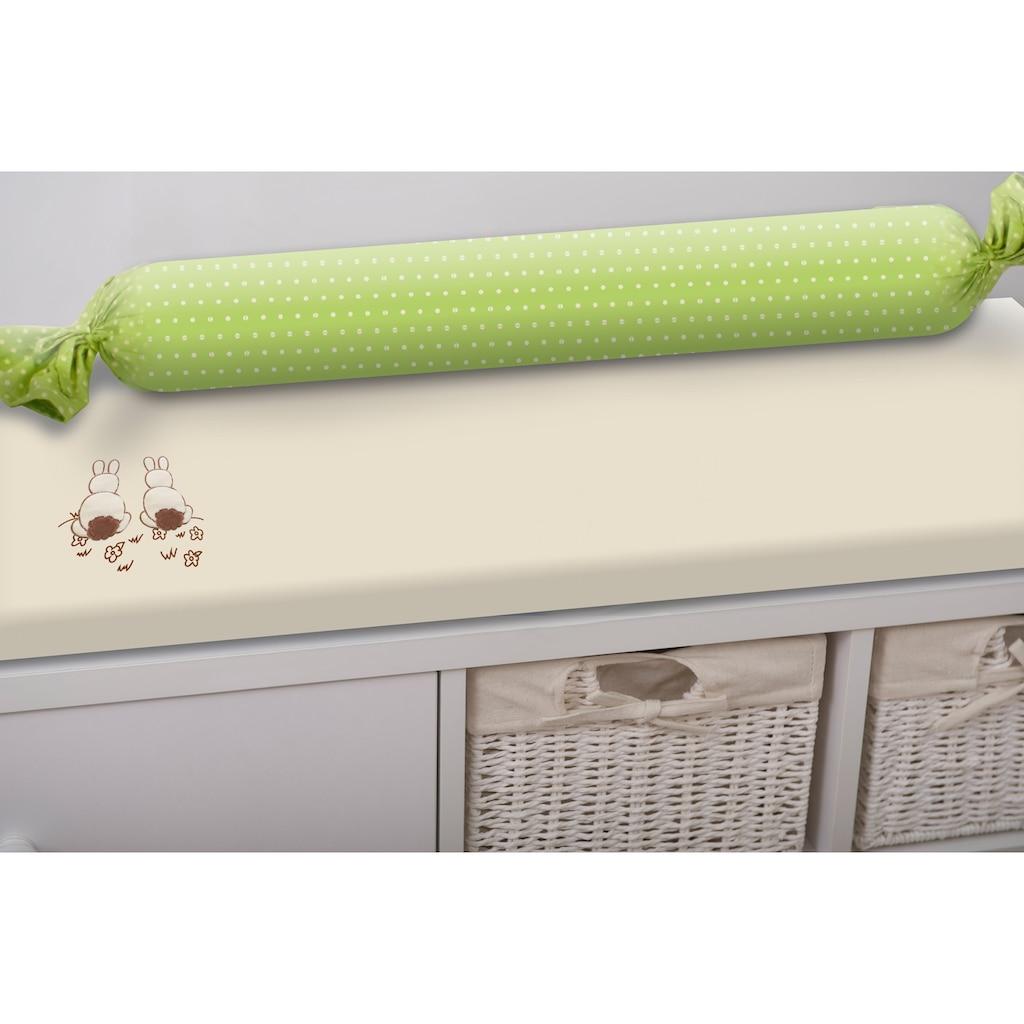 smarTrike® Wickelauflage »toTs Wickelmatte Joy Rabbit grün«, mit Rolle