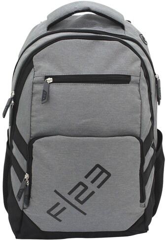 F23™ Schulrucksack »Teamplayer, grau« kaufen
