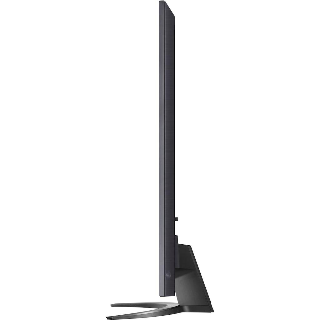 "LG LCD-LED Fernseher »86NANO919PA«, 217 cm/86 "", 4K Ultra HD, Smart-TV, (bis zu 120Hz)-Full Array Dimming Pro-α7 Gen4 4K AI-Prozessor-Sprachassistenten-HDMI 2.1"