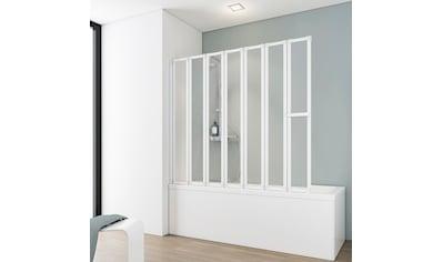 SCHULTE Badewannenfaltwand »Luxus«, 7 - tlg., gerahmt, BxH: 150 x 140 cm kaufen